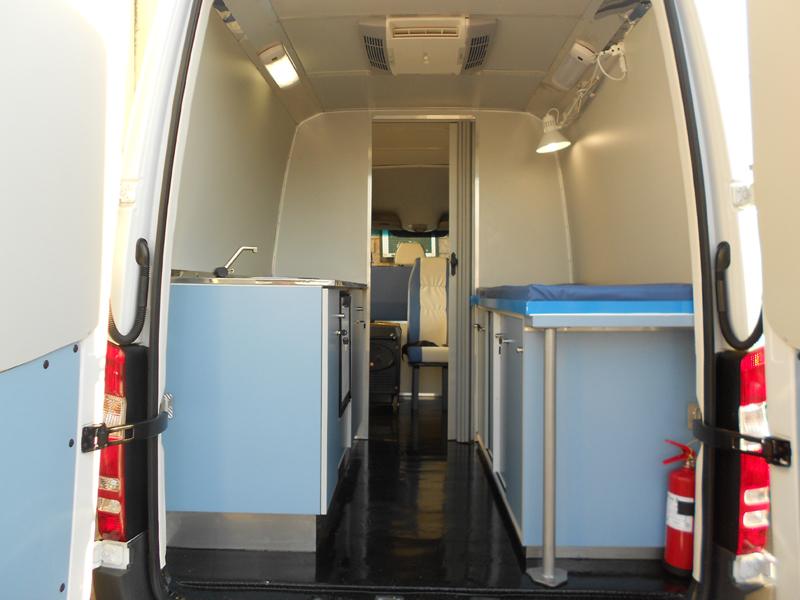 Offices Mobile Clinics Ambulances Workshops