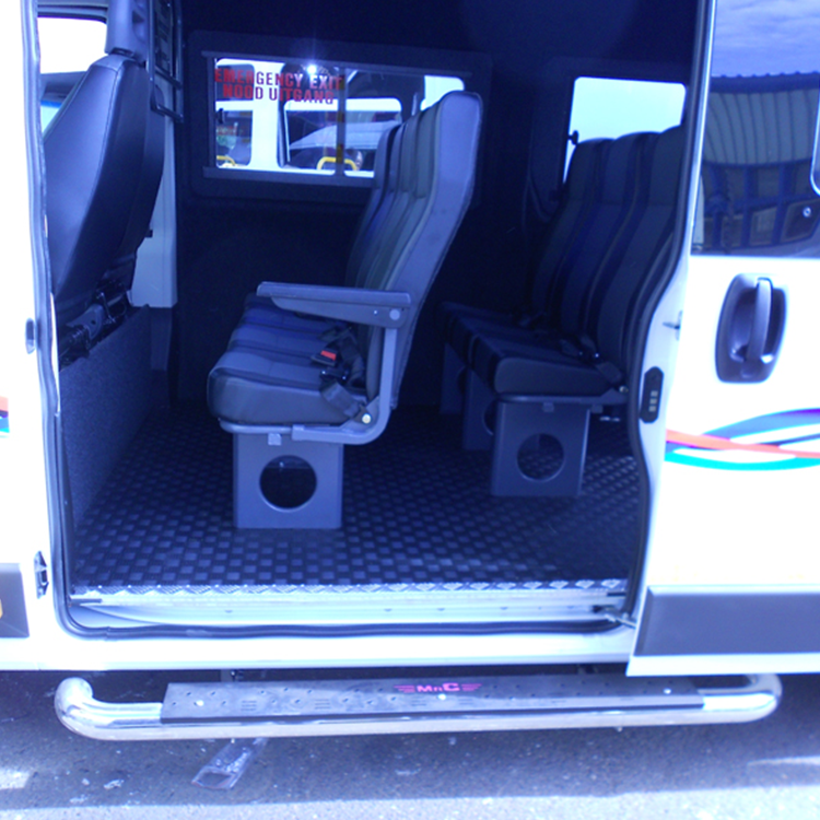 16 Seater Bus Conversion Side